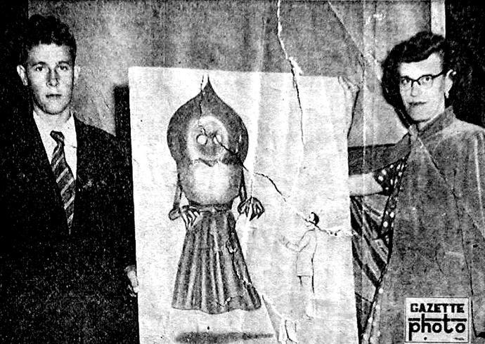 Have you ever heard of this real life incident of the unidentified extraterrestial figure in Flatwoods, West Virginia?