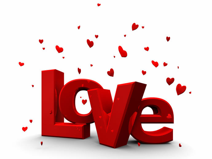 word of the month: LOVE. What are you thinking about when reading this word??