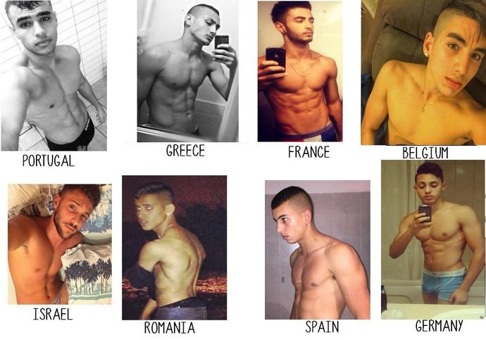 Girls, the new compatition in Europe, who is the hottest men in the picture ?