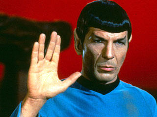 Do you think it's weird that I think of Spock as something of a hero?