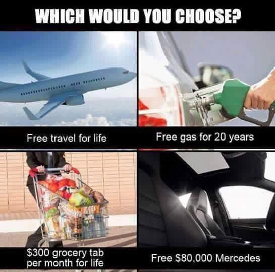 What would be your choice?