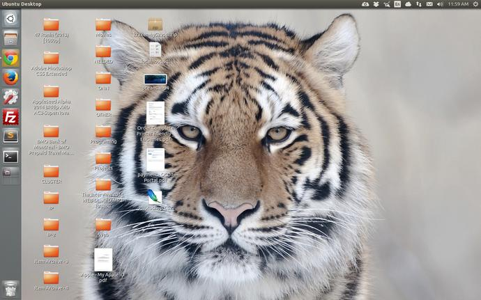 How does your desktop look like?