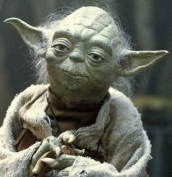 Isn't Yoda so cute?