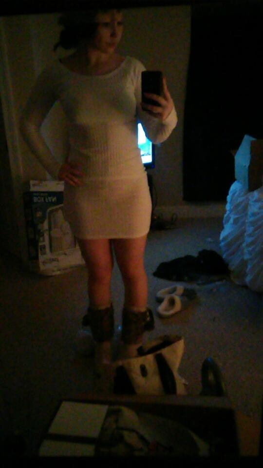 Guys, Does this dress look okay?