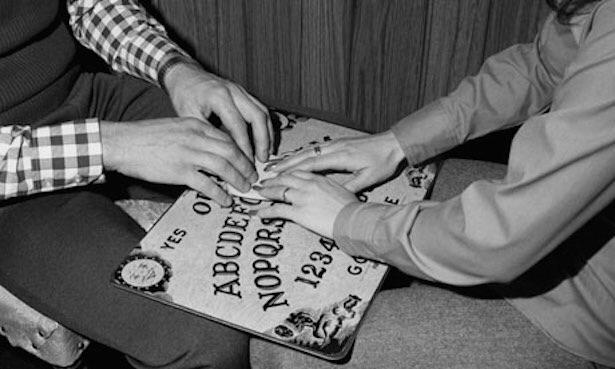 Who here is brave enough to play with the Ouija board?