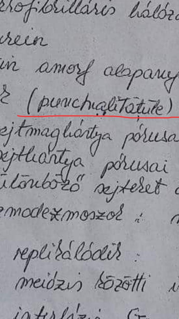 Can someone decipher the underlined word, please?