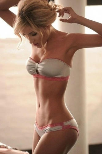 Why is skinny girls not good but fat is acceptable?