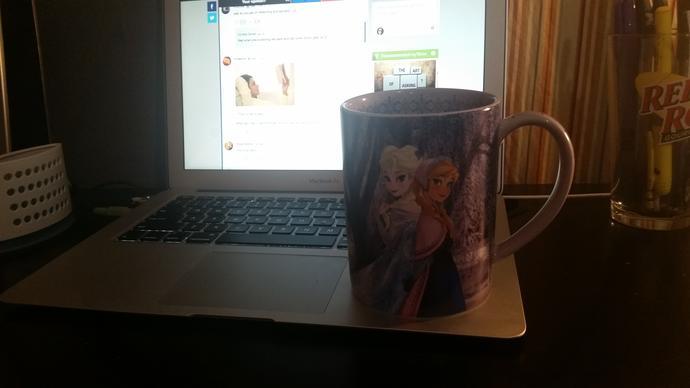 How alpha is my new coffee mug?