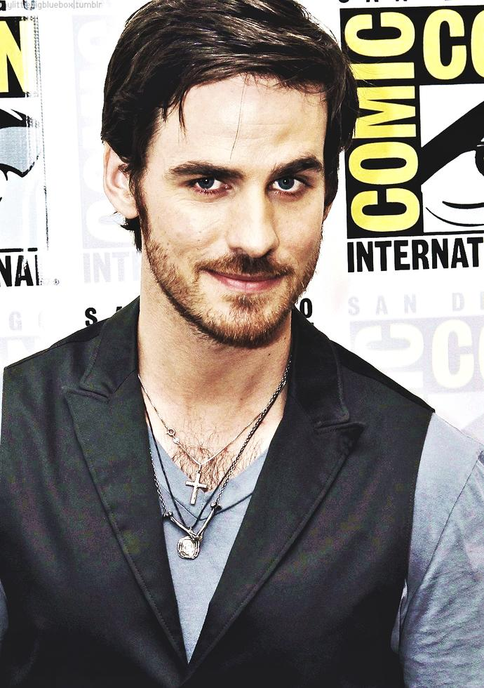 What do you think about Colin O'Donoghue a.k.a Captain Hook?
