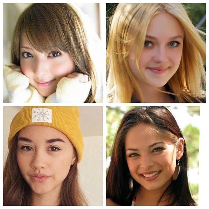 Cute face or hot face?