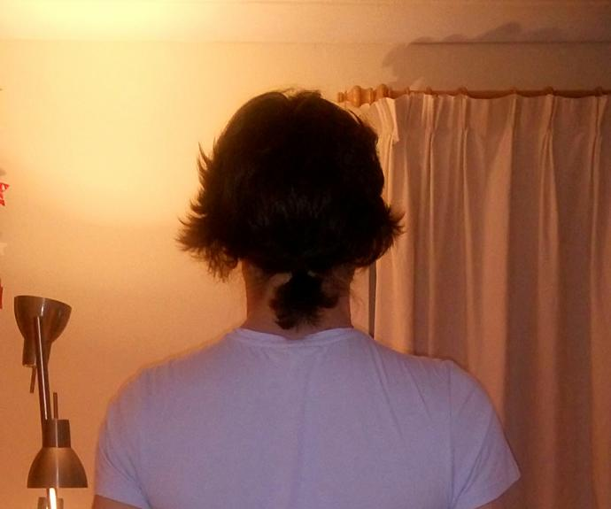 How does my ponytail look :) ?