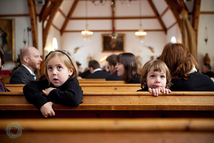 Do you think these children are Christian children or children with Christian parents?