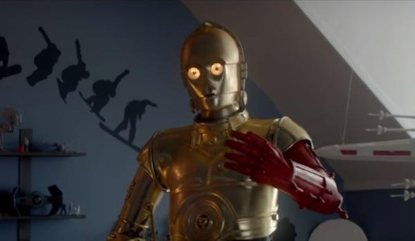Why is C3PO always so stiff-jointed?