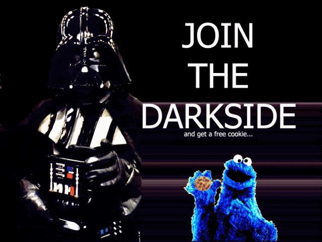 Will you come to the Dark Side?