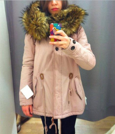 Guys, Pink winter coat, yay or nay?
