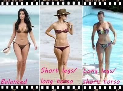 Short legs/long torso or long legs/short torso?