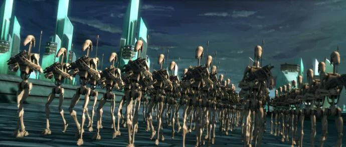 What would you do if your city was being invaded by a DROID ARMY?