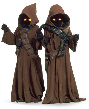 Ewoks or Jawas? Which of these two Star Wars races is your fave?