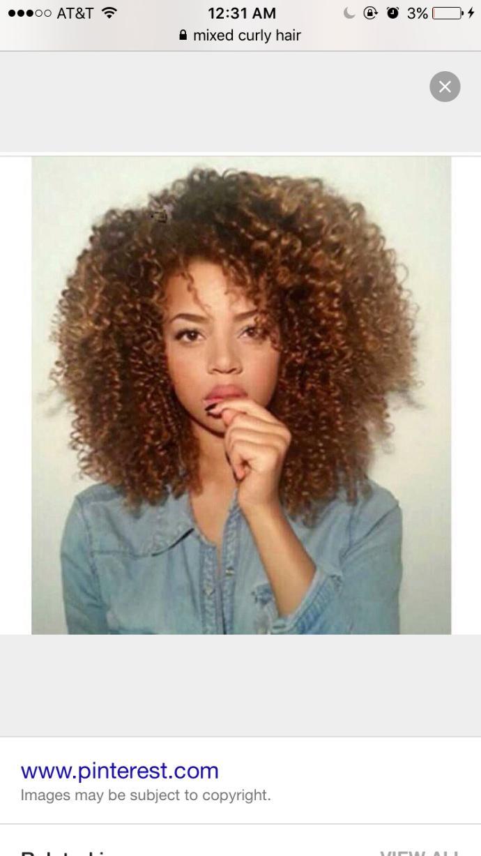 Is mixed girl hair as pretty as white girl hair ?