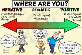 Are you a Negative ,positive or realistic person?