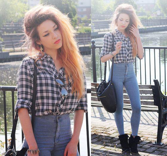 Girls, do you like high waisted jeans 👖👖?