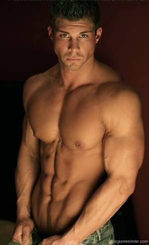 Muscular and hair or Muscular and not hairy?