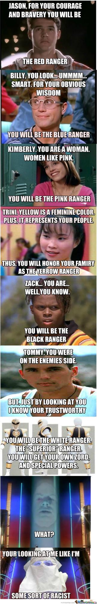 Was Zordon a racist?