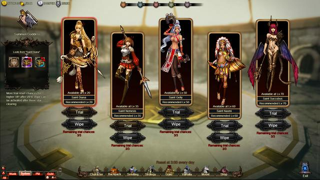 Is Goddess of War game suitable for girls?