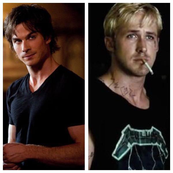 Luke or Damon who's more of a bad boy?