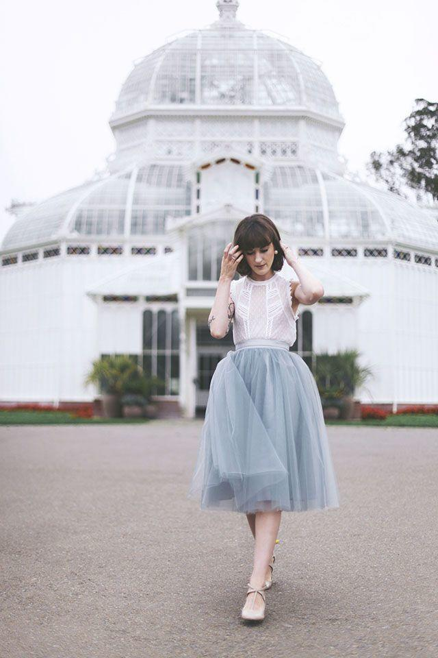 How cute are tulle skirts?
