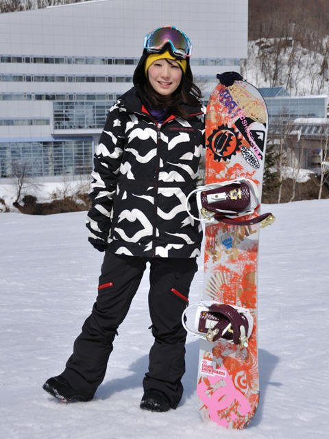 What is more attractive? A girl who snowboards or snowmobiles?