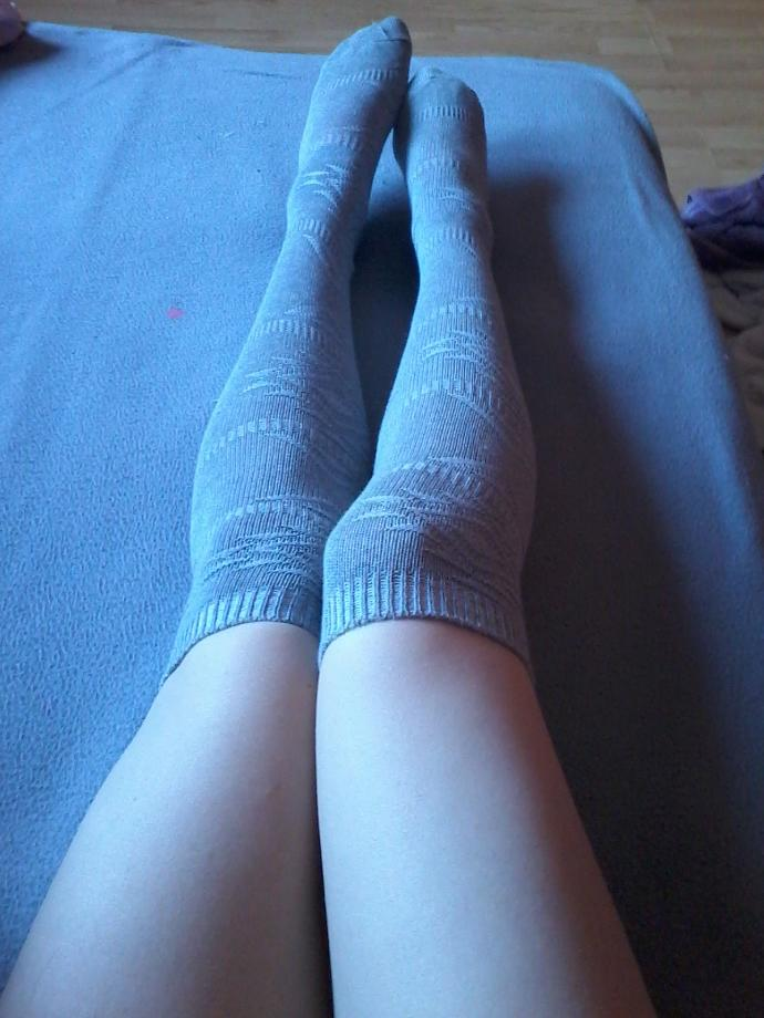 What do you think avout knee high socks (pic)?