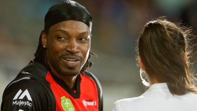 Is it unfair that Cricketer player Chris Gayle is banned from future tournaments for flirting with a reporter on TV?