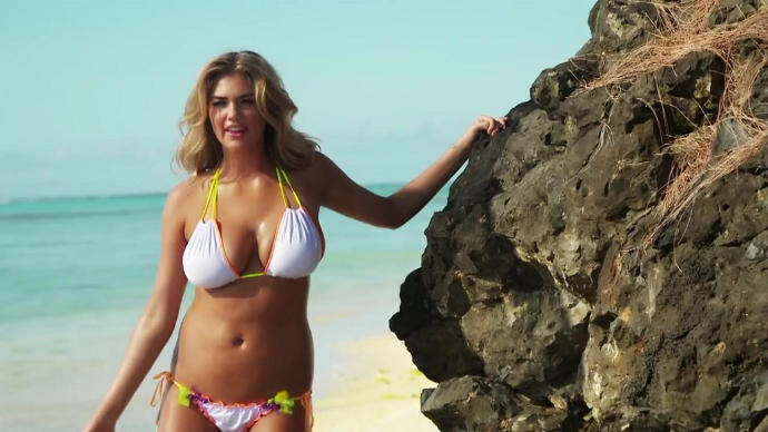 Kate Upton isn't chubby, is she?