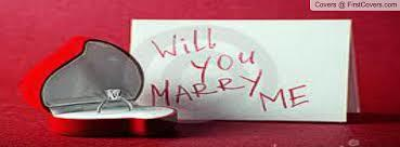 What's the best way to ask: Will you marry me?