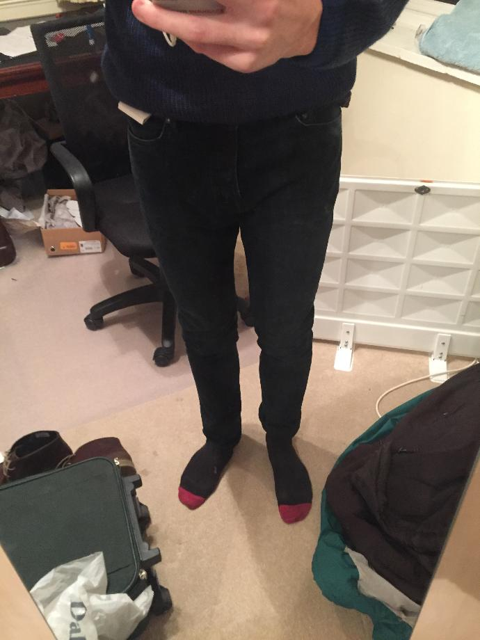 Are these jeans too tight?