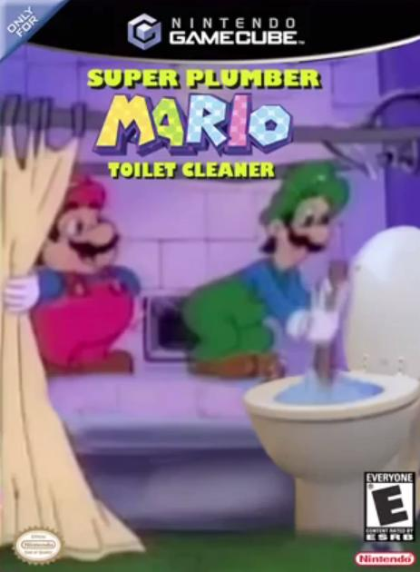 Do you believe Mario or Luigi is better at toilet cleaning?
