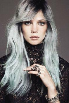 Why do some girls colour their hair silver?