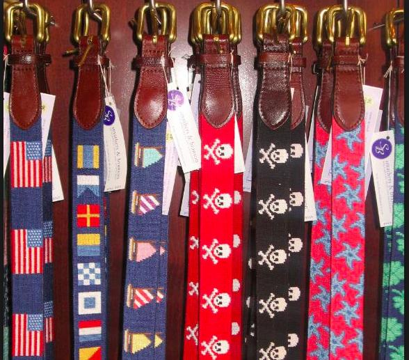 Girls, do you like this type of belts on men (needlepoint with drawings)?