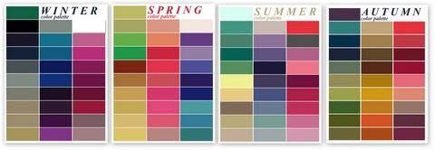 What seasonal colour palette(s) do you sute best?