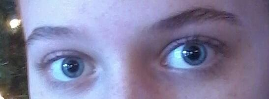 Do my eyes look better with fake eyelashes or without?