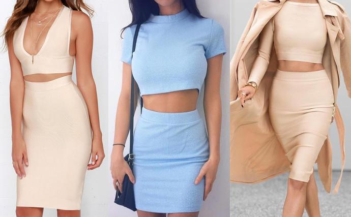 Two Piece Dress: Classy or Trashy?