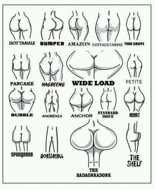 What kind of ass do you have?