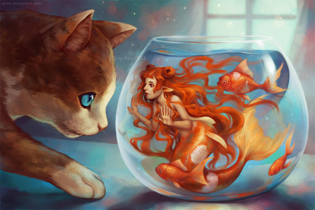 Do you ever just feel like your living in a fishbowl?