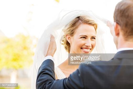 Guys, do you ever dream of how you're bride is going to look on your wedding day?