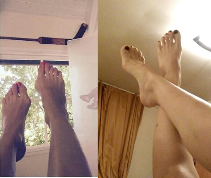 Guys, What feets do you like more (photo)?