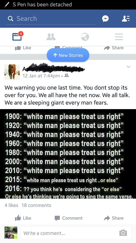 Bi racial friend Racist or Not?
