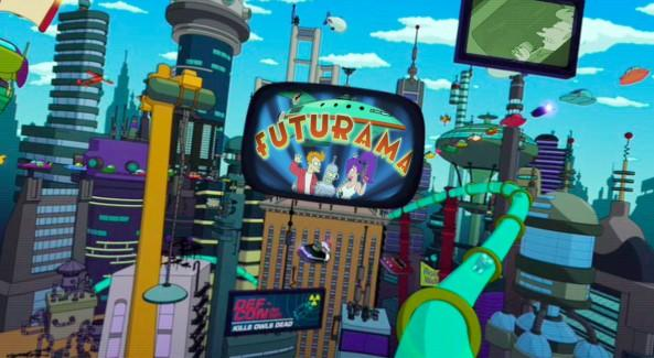 If you were to travel in the future, which futuristic universe would you like to travel to and start a new life with, Futurama's universe or?