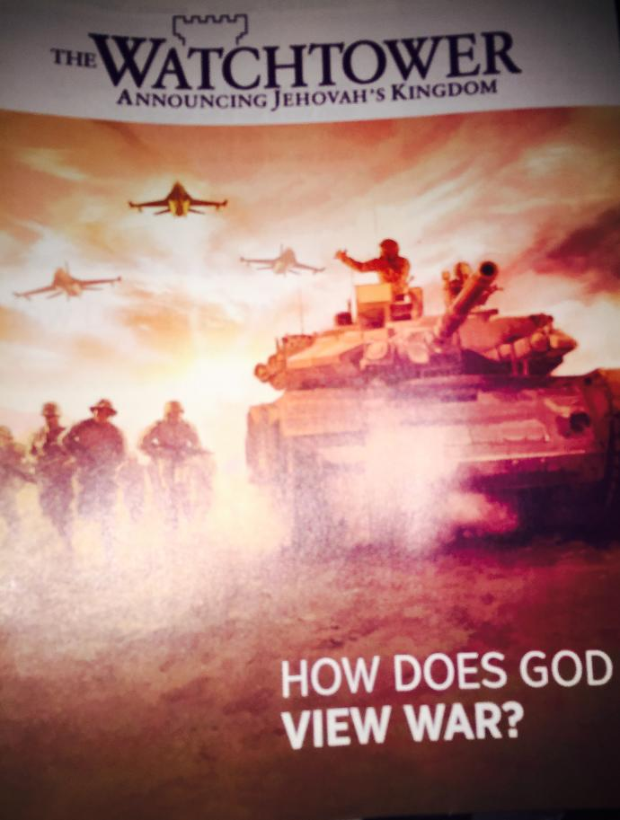 How does God view war?