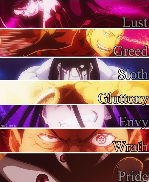 Which is your favorite Deadly Sin?